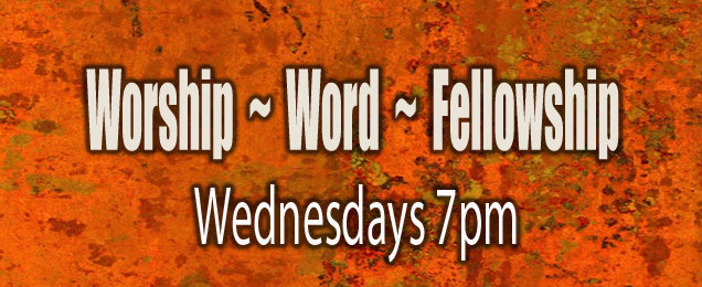 Worship-Word-Fellowship Wed - Orange Specks